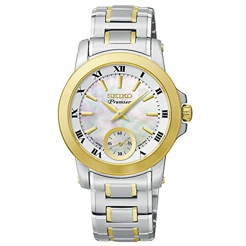 Seiko Premiere Seconds Subdial Stainless Steel - Two-Tone Women's watch #SRKZ66