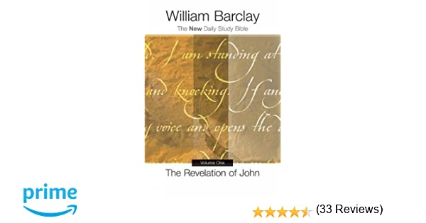 The revelation of john vol 1 new daily study bible william the revelation of john vol 1 new daily study bible william barclay 9780664226794 amazon books fandeluxe Gallery