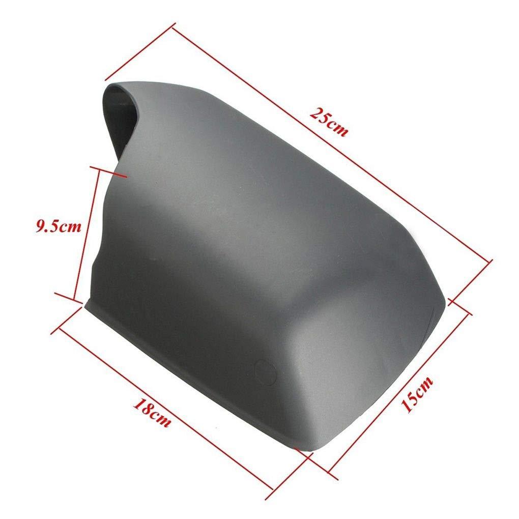 Topker Rearviem Cubierta del Espejo Cabeza de la Caja Izquierda de la Carcasa del Lado del acompa/ñante 51168256321 reemplazo para X5 E53 00-06
