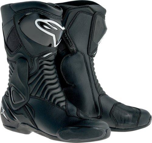 Alpinestars SMX-6 Men's Motorcycle Street Boots (Black, EU Size 38)