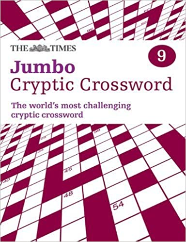 The Times Jumbo Cryptic Crossword Book 9 by The Times Mind Games (2009-05-28)