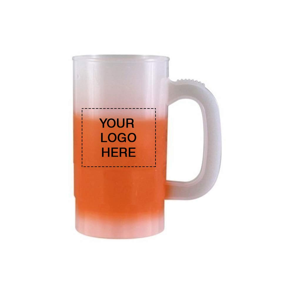 14 oz. Mood Beer Stein | 150 Qty | 2.74 Each | Customization Product Imprinted & Personalized Bulk with Your Custom Logo