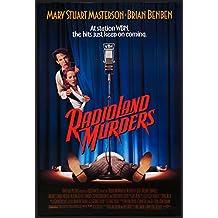 "RADIOLAND MURDERS - 27""x40"" D/S Original Movie Poster One Sheet 1994 Mary Stuart Masterson"