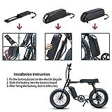 36V 48V 52V ebike Battery 10-18AH Electric Bicycle