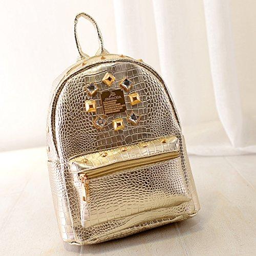LA HAUTE - Bolso mochila  para mujer dorado dorado