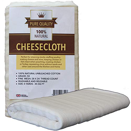 Cheesecloth Unbleached Grade 50