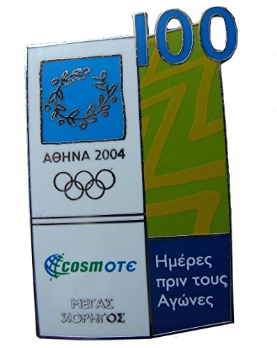 greece-athens-2004-olympic-games-cosmote-100-days-to-go-pin