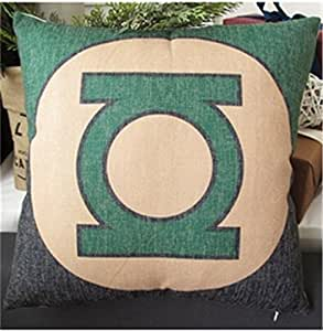 Home decorative super hero mark series pillow cushion cover by Sunny Future