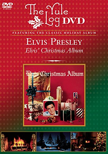 DVD : Elvis Presley - Elvis Christmas / Yule Log (DVD)