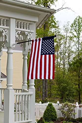 Buy wooden pole for flag