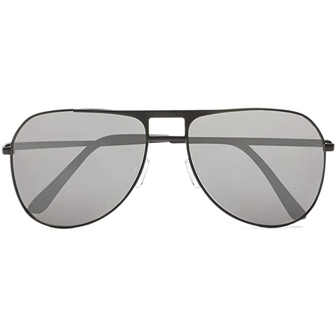 Vans Gafas De Sol Hayko Shades Matte Negro-Plata Mirror ...