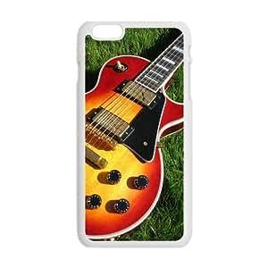 Futefew Mobile Phone Shell Red Guitar Grass Pattern Case for Iphone6 Plus 5.5 wangjiang maoyi