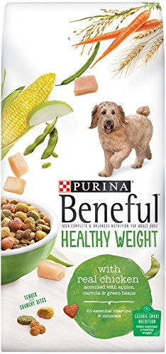Beneful Dry Dog Food Healthy Weight with Real Chicken 15.5-Pound Bag Pack of 1