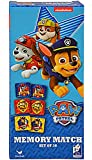 Paw Patrol 36-Piece Memory Match Tower Game