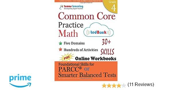 Common Core Practice - Grade 4 Math: Workbooks to Prepare for the ...