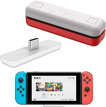 WeChip Route Air - Transceptor USB de Audio Bluetooth Compatible con Nintendo Switch/Switch Lite, PS4/PC, 5 mm, sin retardo, Plug and Play: Amazon.es: Electrónica