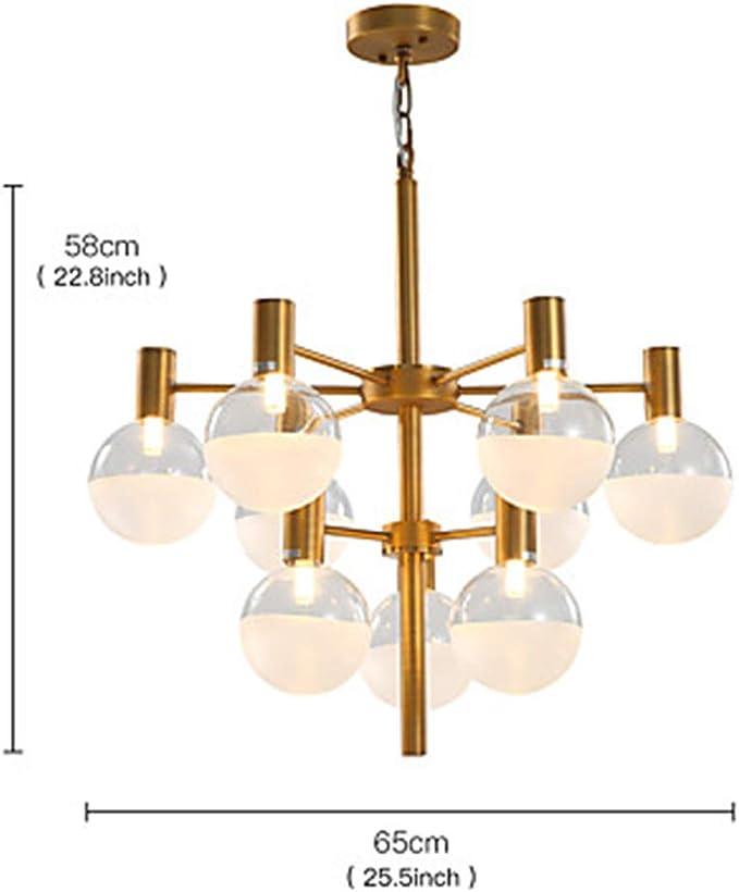 10 Light Sputnik Chandelier Ambient Light Painted Finishes Metal Glass E26E27