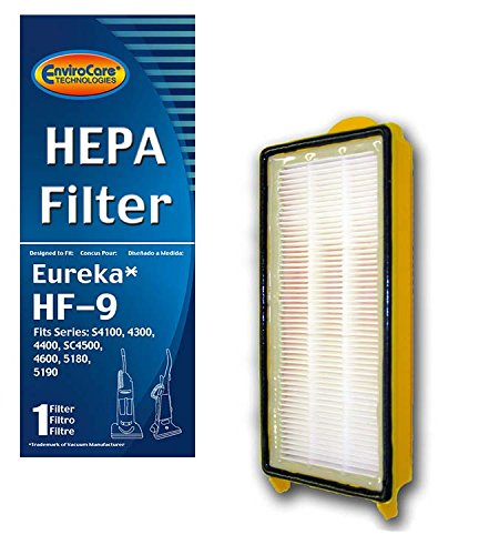 - EnviroCare Replacement HEPA Vacuum Filter for Eureka HF-9 Uprights