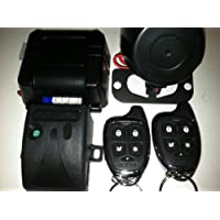 SCYTEK G25 Vehicle Security System & Keyless Entry, Two Sleek 5 Buttom Remote Control W/ Long Range Antenna