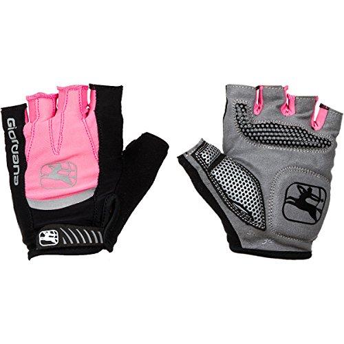 Strada Glove - Giordana Strada Gel Glove - Women's Pink/Grey, M