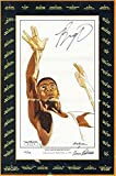 """OSCAR ROBERTSON SIGNED 6""""x9"""" LITHOGRAPH POSTCARD SEAL OF APPROVAL - JSA Certified - Autographed NBA Art"""