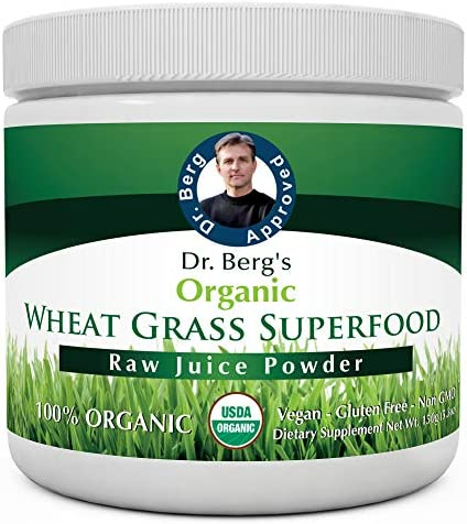 Dr. Berg's Wheat Grass Superfood Powder