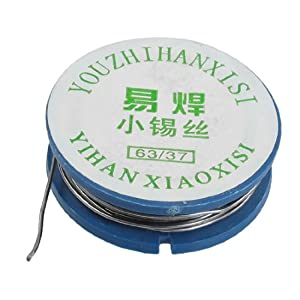 uxcell 0.8mm Diameter 1.5M Length Tin Lead Melt Solder Soldering Wire Reel