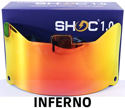 Shoc 1.0 Inferno Visor for Football & Lacrosse Helmets