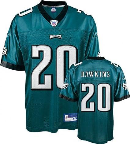 e5b0def4 Amazon.com: Brian Dawkins Green Reebok NFL Replica Philadelphia ...