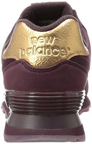 Raspberry Molten 574 Chaussures New pour Balance Black métalliques hommes OU6xc87pwq
