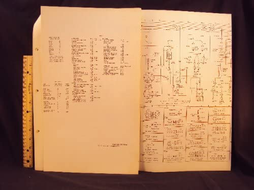 1974 74 ford f500, f550, f650, & f750 truck electrical wiring diagrams  manual ~original: ford motor company: amazon com: books
