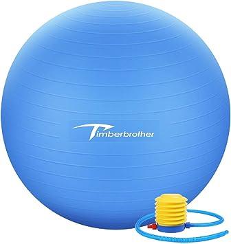 Timberbrother Pelota de Ejercicio / Bola de Gimnasia, 65 cm de ...