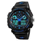 Skmei S-Shock Multi-functional Blue Dial Sports Watch for Men's & Boys