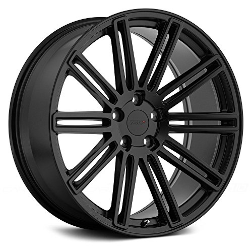 TSW CROWTHORNE Black Wheel with Painted Finish (19 x 8.5 inches /5 x 114 mm, 40 mm Offset)