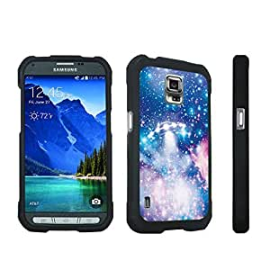 DuroCase ? Samsung Galaxy S5 Active SM-G870A Stylish Hard Case Black - (UFO)