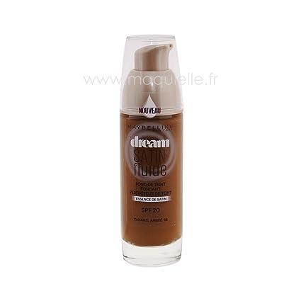 8e5a391d7306 Gemey Maybelline - Fond de Teint Dream Satin Fluide N°68 Caramel Ambré