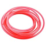 5 8 clear hose - uxcell 5M 5x8mm Air Compressor Fuel Gas Petrol PU Line Tube Hose Clear Red