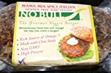 ITALIAN VEGGIE BURGERS 12 - 2 PACKS Organic Gluten Free Vegan Veggie Burgers Cooked Fresh & Ships Frozen 24 TOTAL Just Heat & Serve