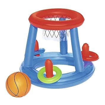 Amazon.com: UHHAN - Aro hinchable de baloncesto, centro de ...