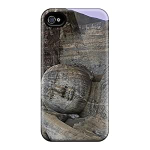 DaMMeke Case Cover Protector Specially Made For Iphone 4/4s Lord Buddha