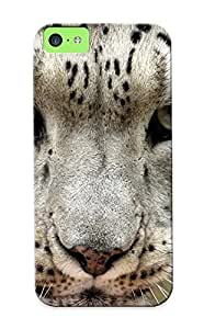 New Mooseynmv Super Strong Snow Leopard Leopards Face Eyes Tpu Case Cover For Iphone 5c