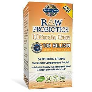 Garden of life whole food probiotic supplement raw probiotics ultimate care for Garden of life probiotics amazon
