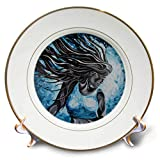 3dRose Art by Mandy Joy - Dancers - A Modern Impressionist Painting of a Hip Hop Dancer. - 8 inch Porcelain Plate (cp_291494_1)