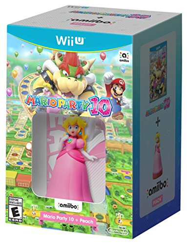Mario Party 10 + Peach amiibo - Wii U by Nintendo