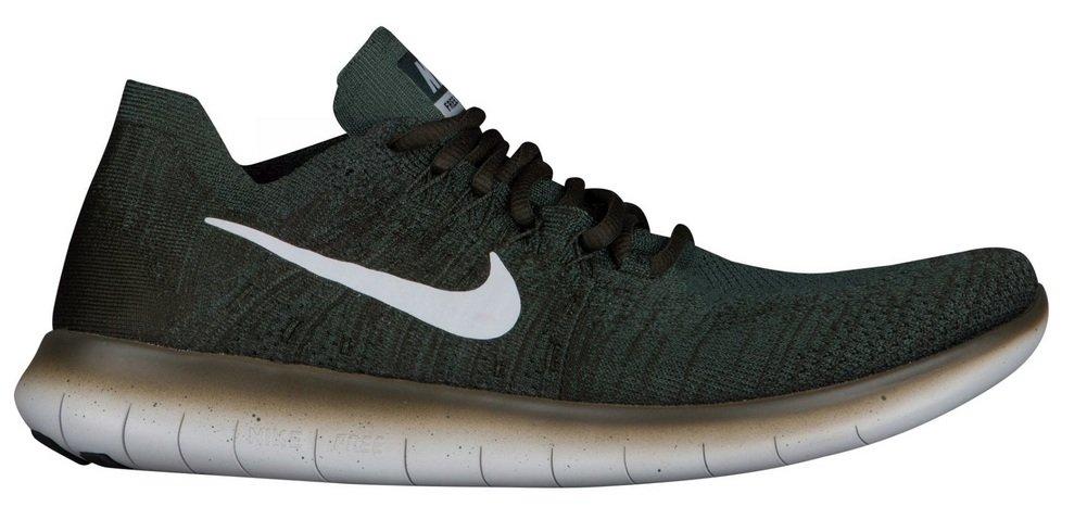 Nike Pánské Free RN Flyknit 2017 Běžecké boty Vintage Zelená Pure Platinum 60% sleva H79908
