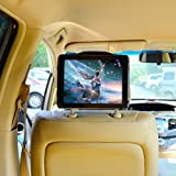 """TFY 9-Inch to 10.1-Inch Tablet PC Car Headrest Mount, Fast-Attach Fast-Release Edition, for iPad Pro 9.7"""" and other 9 - 10.1 inch Tablet PCs, Black"""