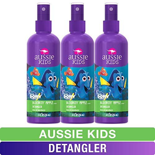 (Aussie Kids Detangler, Finding Dory, Blloomin' Apple, 8 fl oz, Triple Pack)