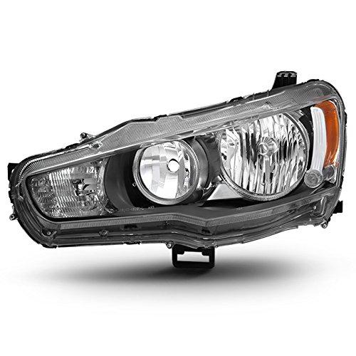 (For 08-17 Mitsubishi Lancer 08-12 Lancer Evolution Halogen Type Driver Left Side Headlight Replacement )