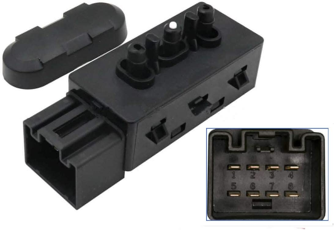 WFLNHB Driver Left Power Seat Switch 6-Way 9L3Z14A701A Replacement for Ford F150 F250