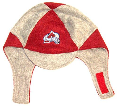 NHL Licensed Youth Elmer Fudd Style Beanie Hat Cap Lid Skull Toque (Colorado ()